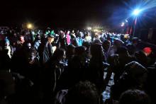 Une rave party en France (illustration)