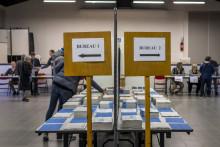 Un bureau de vote à Toulouse (illustration)