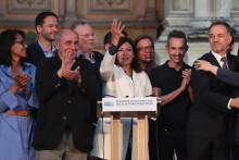 Anne Hidalgo, réélue maire de Paris le 28 juin 2020