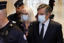 Penelope et François Fillon, le 29 juin 2020