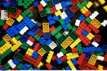 Des pièces de Lego (illustration)