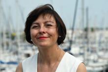 Carole Delga, présidente de la région Occitanie, au Grau du Roi, en 2016