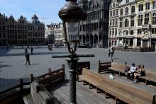 La Grand-Place de Bruxelles, en juin 2020