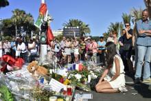 Un mémorial pour les victimes de l'attentat à Nice, le 16 juillet 2016
