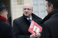 Le président de la Métropole européenne de Lille (MEL) Damien Castelain.
