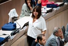 Michèle Rubirola, élue maire de Marseille, le 4 juillet 2020