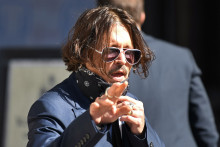 Johnny Depp, le 7 juillet 2020