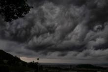 Un orage en France (illustration)