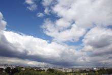 Un ciel nuageux (illustration)
