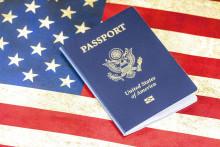 Un passeport américain (Image d'illustration).