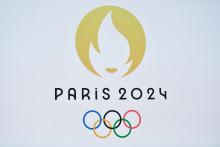 Le logo des Jeux Olympiques 2024