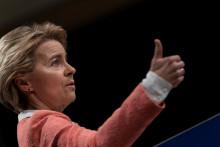 Ursula von der Leyen, la présidente de la Commission européenne.