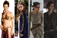 Leia, Padme, Rey et Jyn, des héroïnes combattives