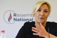 Marine Le Pen, présidente du Rassemblement nationale, le 28 juillet, à Nanterre.