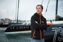Le skipper français Thomas Coville, le 12 octobre 2016