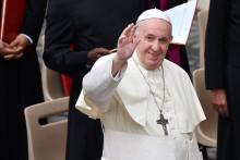 Le pape François le 2 septembre 2020 au Vatican