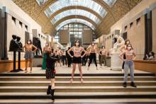 Les Femen au musée d'Orsay le 13 septembre 2020.