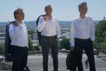 Matthieu de Laubier, Farid Abdelkrim et Philippe Darmon sont les membres du groupe Ensemble.