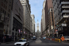 La ville de Philadelphie (illustration)