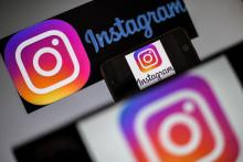 Le logo d'Instagram aux États-Unis (illustration)