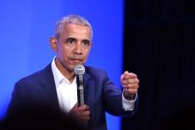 Barack Obama à Oakland, en Californie, le 19 février 2019.