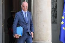 Jean-Michel Blanquer, ministre de l'Éducation nationale, à la sortie de l'Élysée