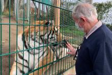 Pierre Thivillon accueille dans son zoo des animaux sauvages saisis par les autorités