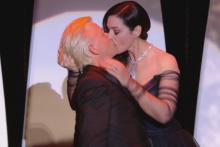 Monica Bellucci et Alex Lutz au Festival de Cannes 2017