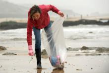 Les déchets plastiques sont très nombreux en mer et sur les plages.