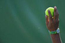 Une balle de tennis ( illustration)