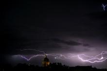 Des orages en France (illustration)