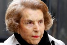 Liliane Bettencourt en 2007