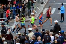 Des coureurs lors du marathon de New York en 2016