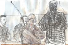 Abdelhakim Dekhar lors de son procès aux assises de Paris vendredi 17 novembre 2017