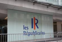Le siège du parti Les Républicains à Paris