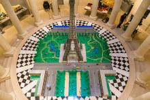 Tour Eiffel en Lego à l'Espace Richaud