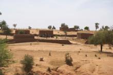 Illustration d'un village dans le nord du Burkina Faso, en novembre 2019