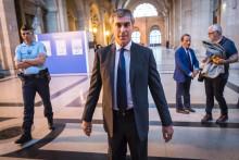 L'ex-ministre du Budget Jérôme Cahuzac, le 13 septembre 2016 au tribunal de Paris