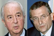 Édouard Balladur et François Léotard, mis en cause dans l'affaire Karachi