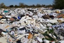 Plus de 7.000 tonnes de déchets polluent la plaine de Carrières-sous-Poissy, victime de dépôts sauvages (illustration).