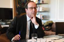 François Hollande, le 7 mai 2019 à Paris