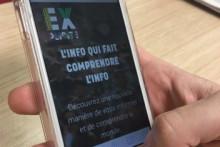"""Le site """"Explicite"""" sur mobile"""