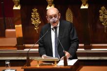 Jean-Yves Le Drian, ministre des Affaires étrangères, le 7 octobre 2019