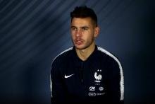 Lucas Hernandez en interview pour RTL et M6