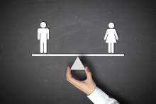 L'égalité femmes-hommes (illustration).