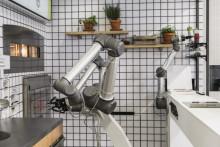 Le robot pizzaïolo d'Ekim