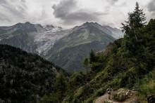 Le Mont-Blanc le 31 août 2018