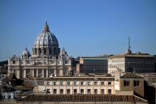 La basilique du Vatican à Rome