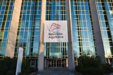 Le conseil régional de Nouvelle Aquitaine à Bordeaux.