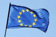 Un drapeau européen (illustration)